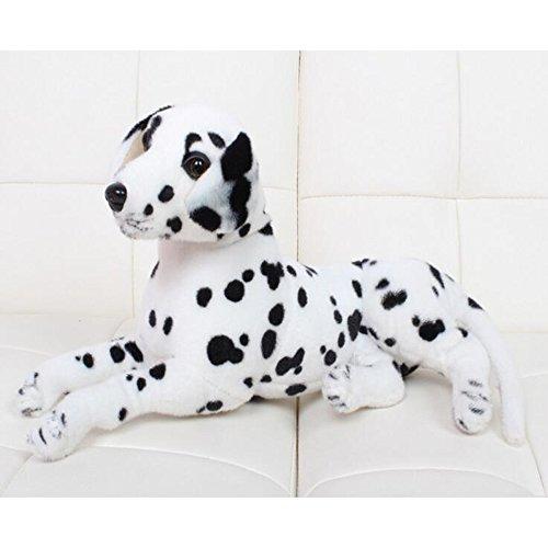 Dongcrytal 157 White Stuffed Animal Toy Puppy Soft Plush Doll Dog Pet Dog Simulation