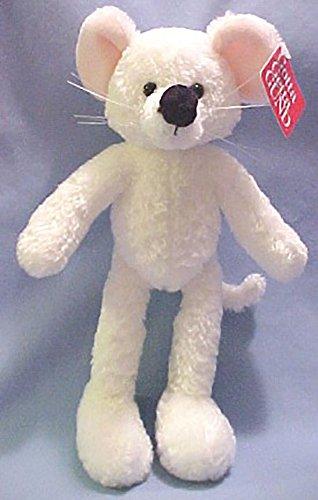 Gund Plush Brie Mouse White Stuffed Animal