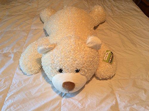 Jumbo 36 Inch Floppy Plush White Stuffed Animal Bear From Sams West Inc
