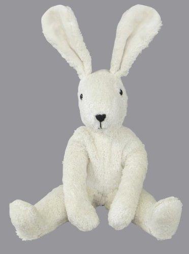 Senger Stuffed Animals - Floppy Bunny Rabbit - Handmade 100 Organic Toy 12 Tall - White
