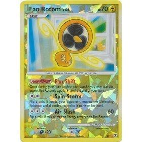 Pokemon Platinum Rising Rivals Single Card Fan Rotom RT1 Holo Rare Toy