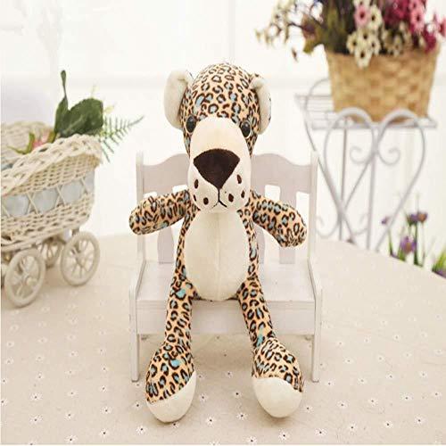 LFSLAS Cuddly Toy New About 20cm Cartoon Jungle Leopard Plush Toy Soft Doll Baby Toy Birthday Gift
