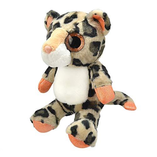 Wild Planet Orbys Leopard Plush Toy 25 cm Handmade Multicolour K8416