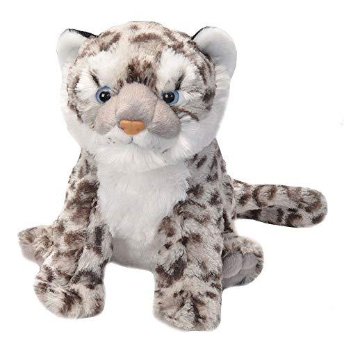 Wild Republic Snow Leopard Cub Plush Stuffed Animal Plush Toy Gifts for Kids Cuddlekins 12