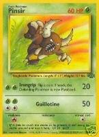 Pinsir  2564 - Jungle - Rare Pokemon Card