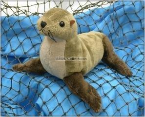 Wishpets 8 Northern Fur Seal Plush Toy by Wishpets