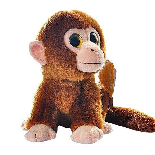 BESTLEE Realistic Brown Monkey Plush Stuffed Animal 7