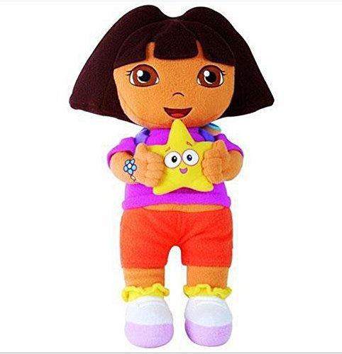 Dora the Explorer Boots Monkey Swiper Fox Dora 9-10 Inch Toddler Stuffed Plush Kids Toys 3 Pcsset