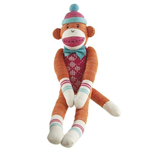 Pack of 2 Genuine Monkeez and Friends Addison Orange Plush Stuffed Monkeys 22