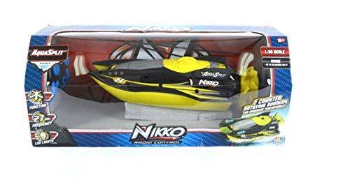 Nikko RC Aquasplit 130 4 Kmh 9v Electric Water Power Boat