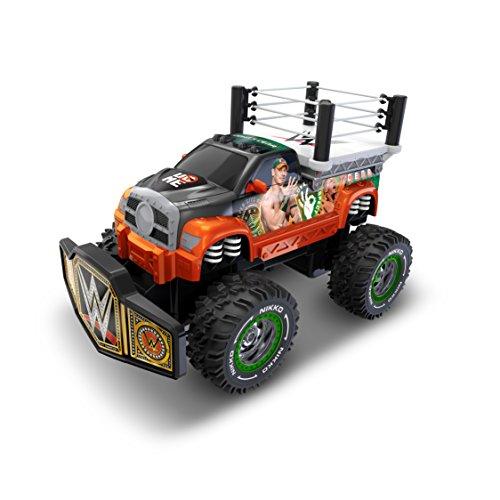 Toy State Nikko RC WWE Rolling Ring John Cena Radio Control Vehicle