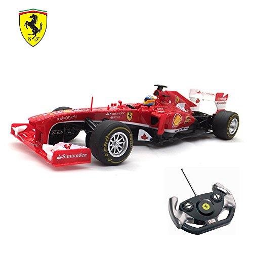 Remote Controller Car Formula Ferrari F138 Electric Car Radio For Kids Grand Sport Vitesse Licensed Orange