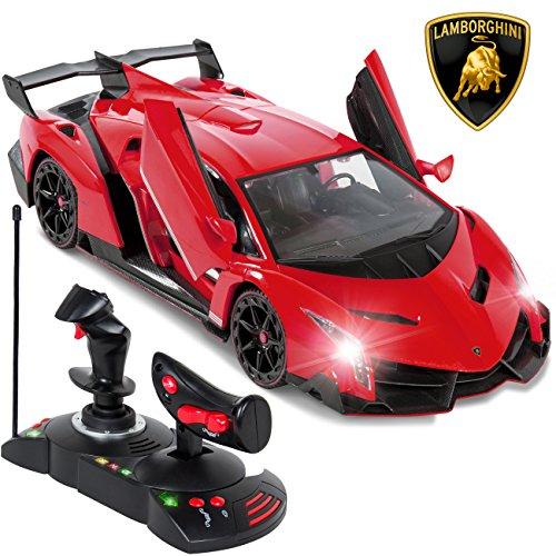 Remote Controller Car Lamborghini Veneno Electric Car Radio For Kids Sport Racing Car W 27MHz