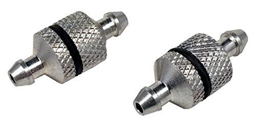 2 PACK Fuel Filters - Aluminum Serviceable Nitro RC Radio Control - Apex RC Products 8056