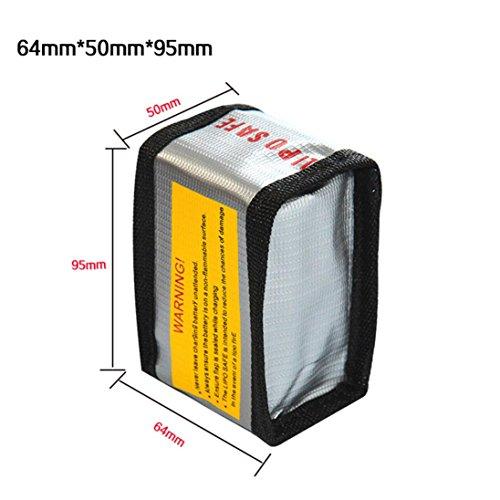 OVERMAL LiPo Li-Po Battery Fireproof Safety Guard Safe Bag 1823MM
