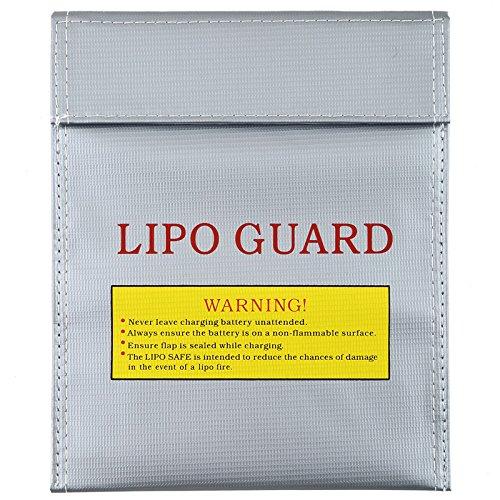 RC LiPo Li-Po Battery Fireproof Safety Guard Safe Bag Charging Sack 18x23cm