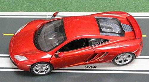 124 Scale Red McLaren MP4-12C Diecast Toy Car