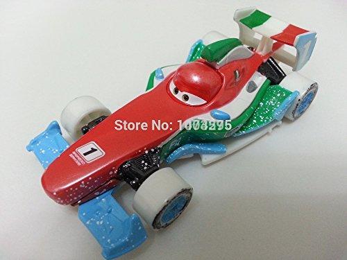 Pixar Cars No95 Russian Ice Cup Racer Francesco Bernoulli Metal Diecast Toys Cars