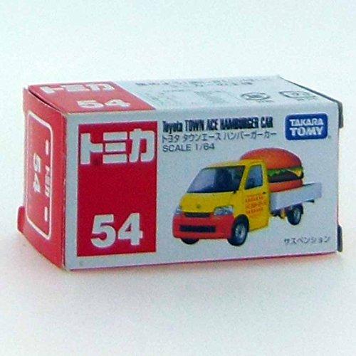 TAKARA TOMY Tomica Diecast BX054- Toyota Townance Hamburger Diecast Toy Car