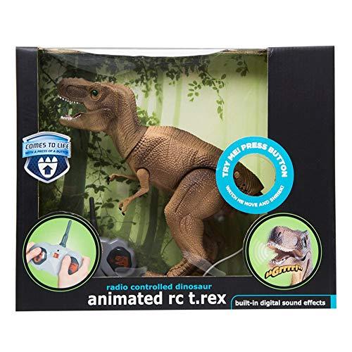 Black Series Animated Radio Control T-Rex Dinosaur RC