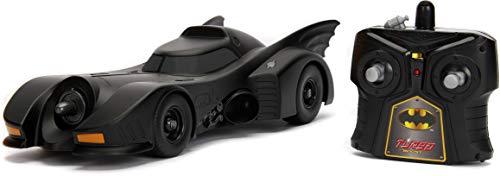 Jada 30331 Hollywood Rides DC Comic Batman 1989 Batmobile RC Radio Control Toy Vehicle