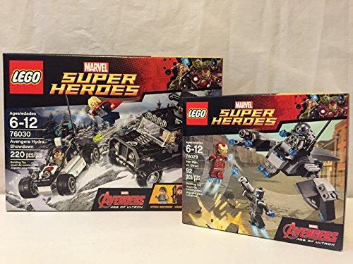 Lego Super Heroes Avengers Hydra Showdown Lego Super Heroes Iron Man Vs Ultron