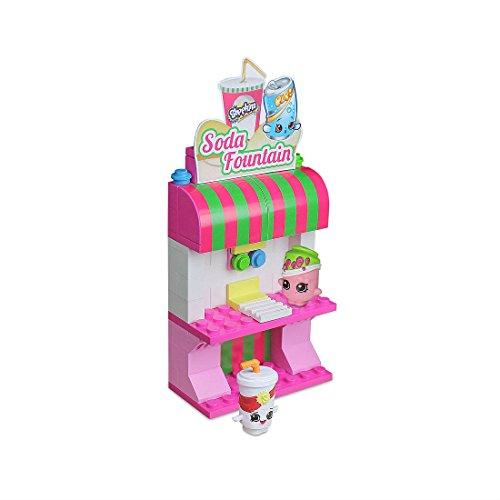 Buildable Shopkins Kinstructions Frozen Treat Stand Playset Figure