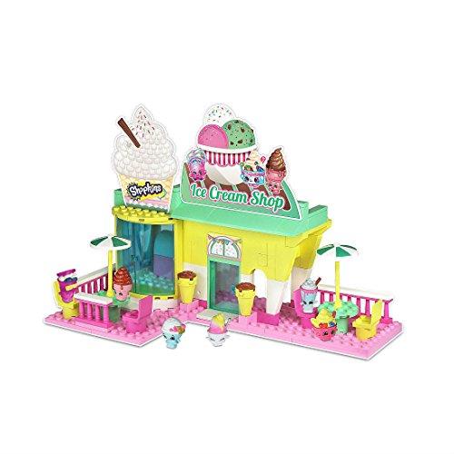 Mix and Match Figure Shopkins Kinstructions Ice Cream Shop Playset