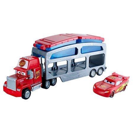 DisneyPixar Cars Color Change Mack Dip Dunk Trailer Truck For 4yr -3ct