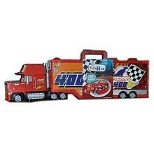 Disney  Pixar Cars Mack Truck Transporter 16 Car Carrying Case 155 Scale Mattel