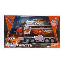 Squinkies Disney Cars Mack Truck Storage And Display Set