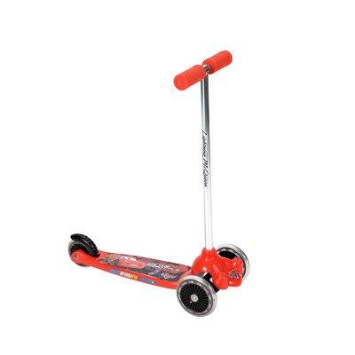 Huffy Boys Tilt N Turn Disney Cars Scooter Racing RedBlack Piston