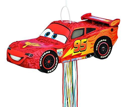 Disney Cars Lightning McQueen Pinata Pull String