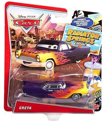 DisneyPixar Cars Radiator Springs Classic Greta Exclusive Die-Cast Vehicle 155 Scale