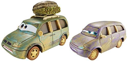 DisneyPixar Cars Radiator Springs Die-Cast Vehicles Lost in the Desert Mini and Lost in the Desert Van 1619 and 1719 2-Pack 155 Scale