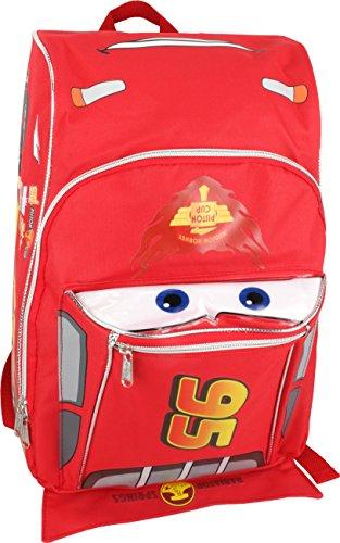 16 Disney Pixar Cars Lightning Mcqueen Backpack-tote-bag-school