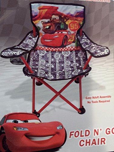 Disney Pixar Cars Lightning McQueen and Mater Fold n Go Folding Chair Kids