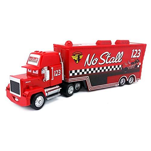 Disney Disney Pixar Cars Mack Uncle No123 No Stall Racers Hauler Truck Diecast Toy Car Loose 155 in Stock