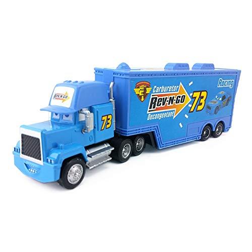 Disney Disney Pixar Cars Mack Uncle No73 Rev-N-GO Truck 155 Diecast Toy Car Model Loose Kids Boy Xmas Gift