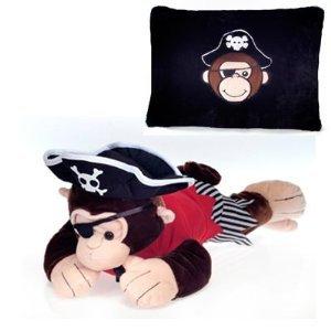 Fiesta Peek-a-Boo Plush 18 Pirate Monkey