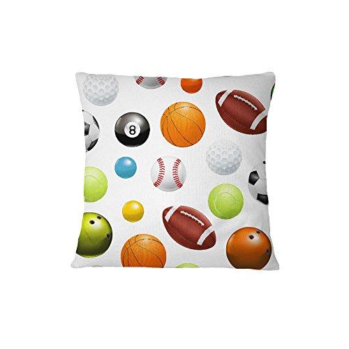Balls Kids Toys Sofa Bed Home Decor Pillow Cover 14 x 14