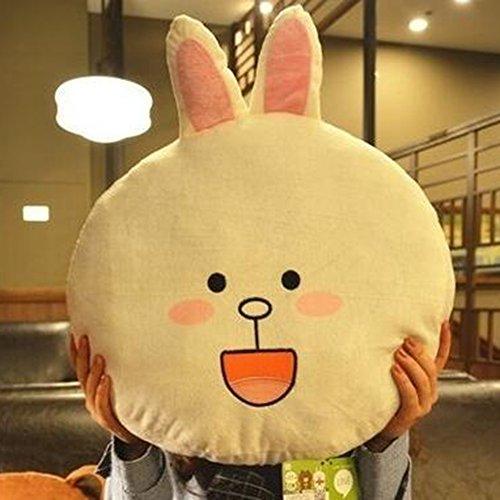 Dongcrystal 157 Rabbit Plush Pillow Stuffed Animal Bear Pillow Toy Sofa Decor