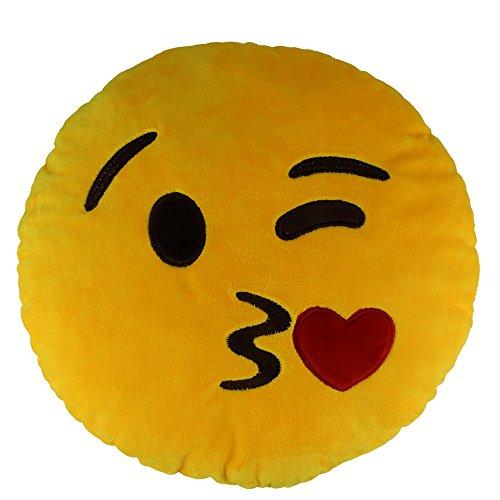 Sealive 138 Lovely Emoji Kiss Emoticon HeartStuffed Pillow Plush Baby ToysSofa Bedding Decoration