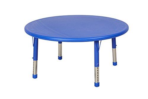 ECR4Kids 45 Round Resin Activity Table Blue