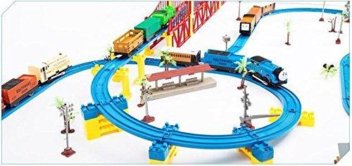 119 pcs thomas electric train set track rail toy trains toy car track