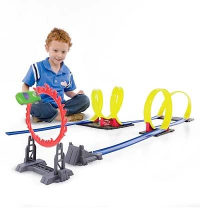Tornado Toy Car Track
