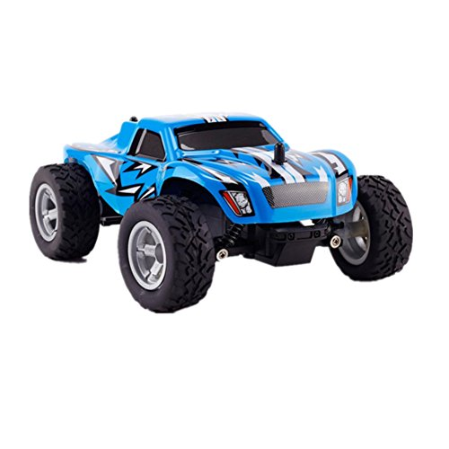 Alonea K24-2 24G 124 High Speed Monster Truck Remote Control Car Blue