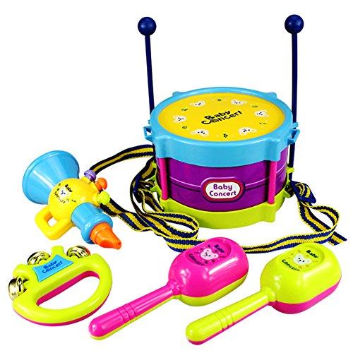 BleuMoo Baby Boy Girl Drum Set Musical Instruments Kids Drum Set Children Toy