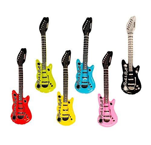 Kangaroos Inflatable Rock N Roll Electric Guitars 18-Pack