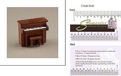 Dollhouse Childs Piano with bench